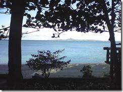 備瀬から望む伊江島